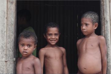 3 PNG kids!